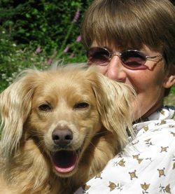 Lisa Kemmerer and Mango. Photo supplied by Lisa Kemmerer