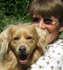 Lisa Kemmerer and Mango. Photo supplied by Lisa Kemmerer