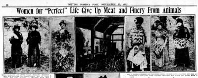 Maude Freshel Newspaper Clipping
