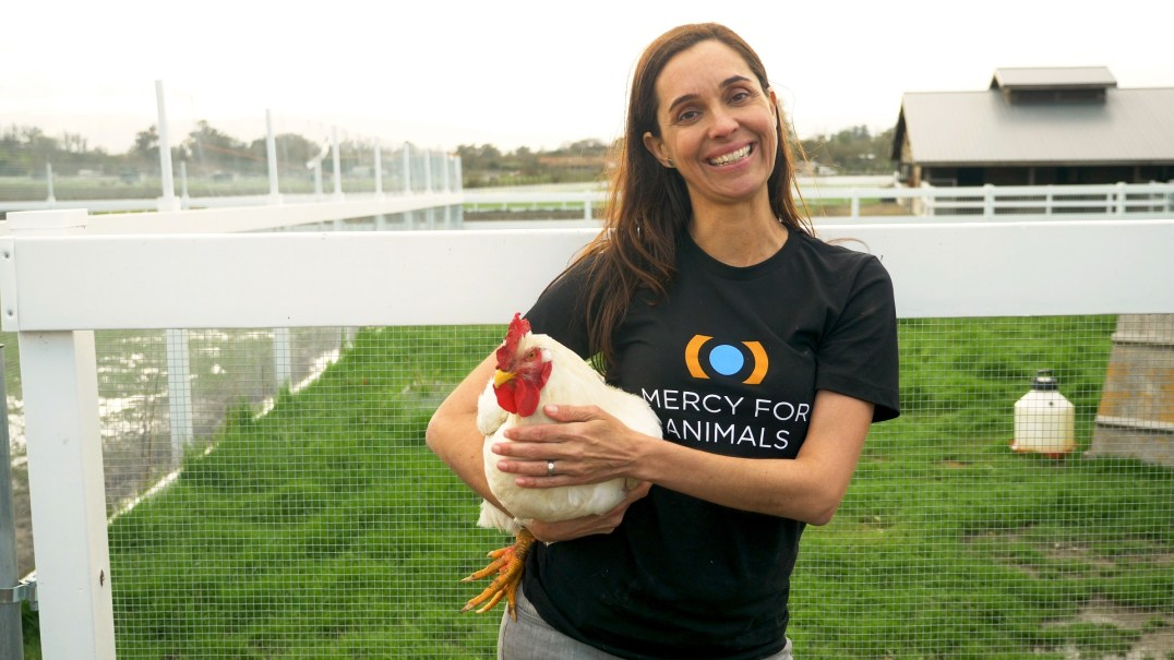 Leah Garcés, President of Mercy For Animals