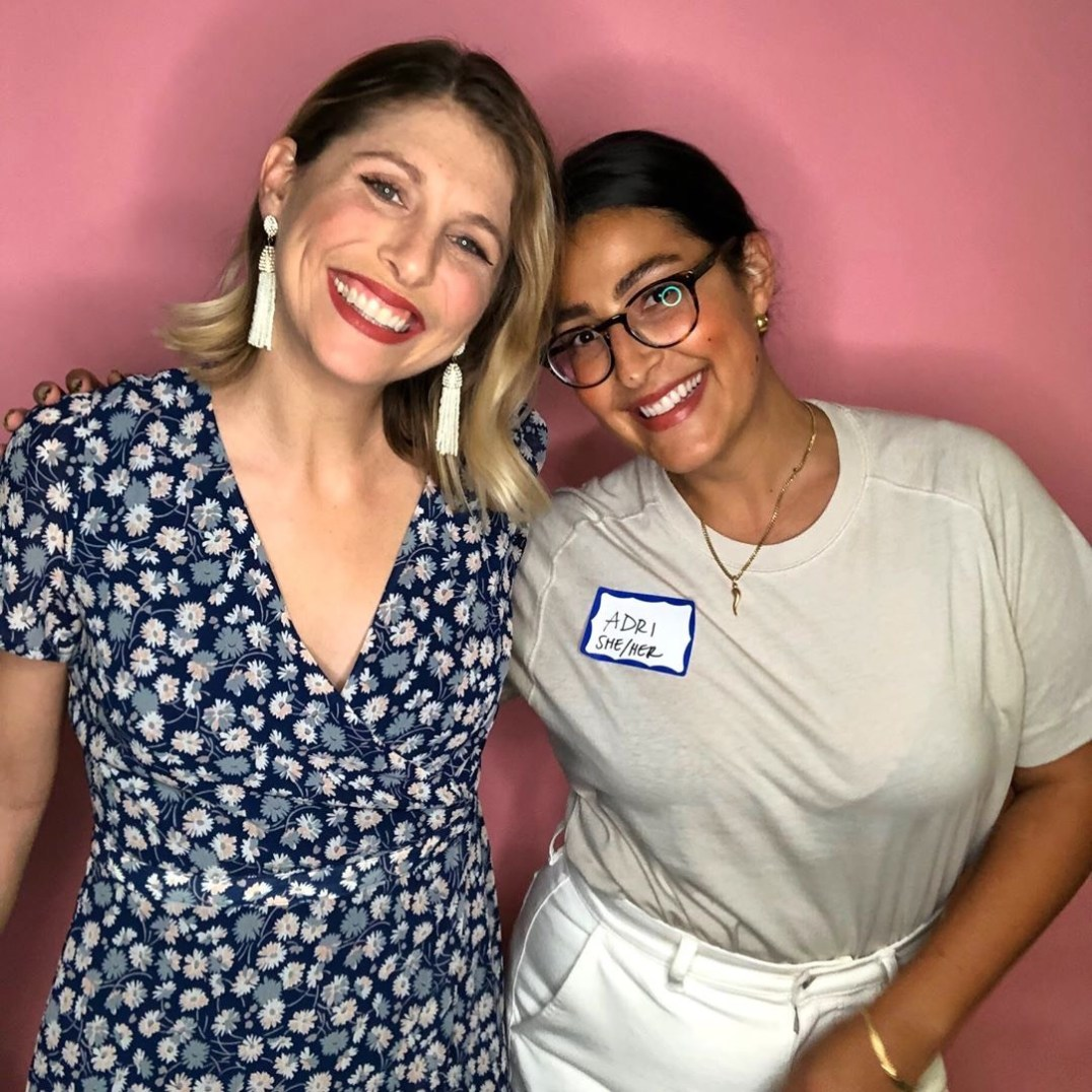 Liz Dee (L) & Adri Suarez (R) - Vegan Ladyboss