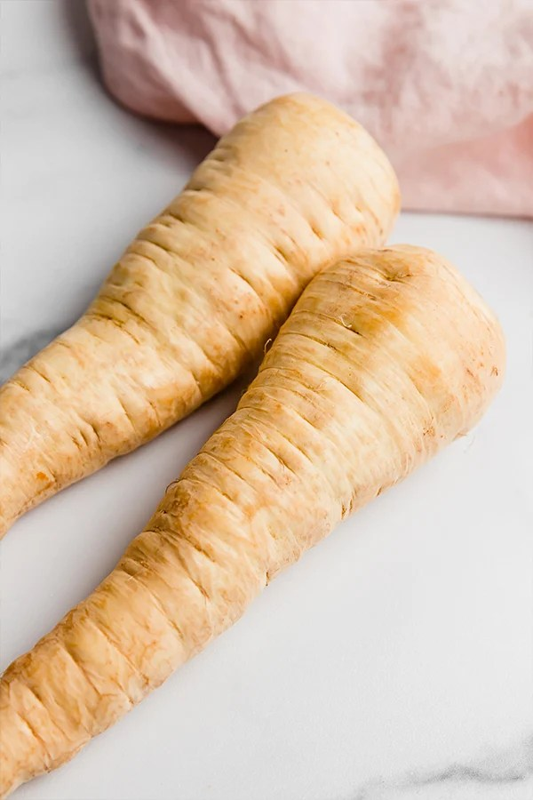 large parsnips raw
