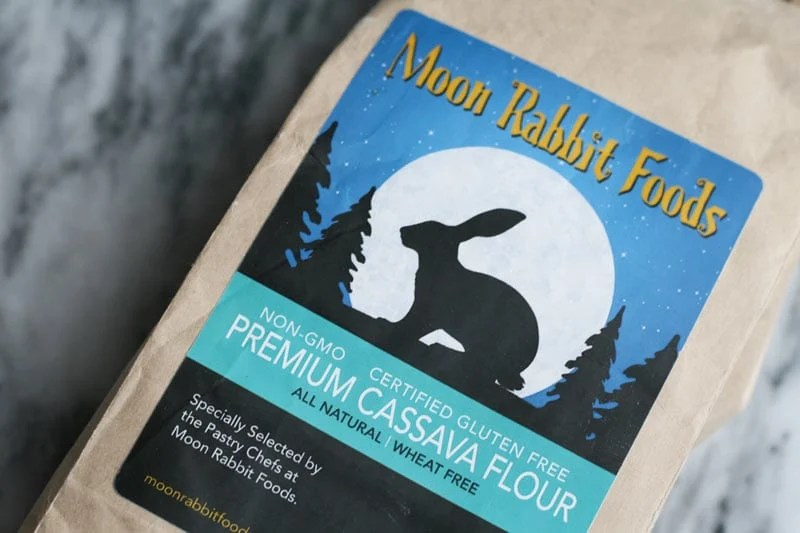moon rabbit cassava flour