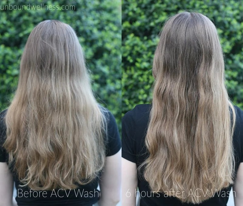 My Apple Cider Vinegar Hair Wash Routine