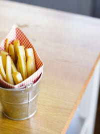 Duck Fat Parsnip Fries