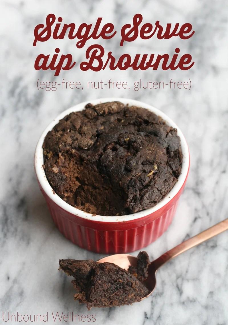 AIP Single Serve Brownie