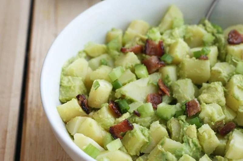 """AIP Avocado """"Potato"""" Salad"""