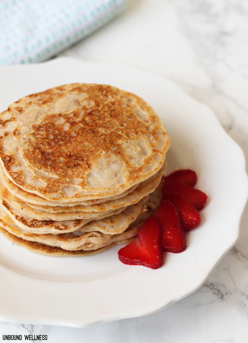 Paleo Egg Free Pancakes With Almond Flour Unbound Wellness