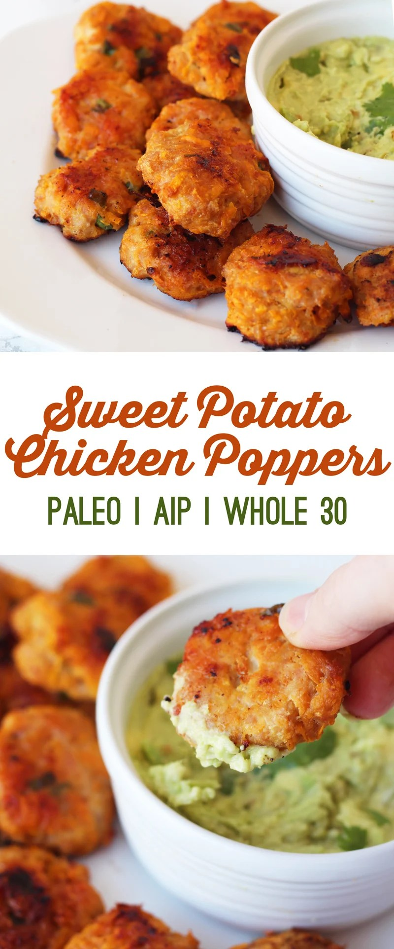 Sweet Potato Chicken Poppers (Paleo, AIP & Whole 30)