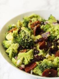 Avocado Bacon Broccoli Salad (Paleo, AIP, Whole 30)