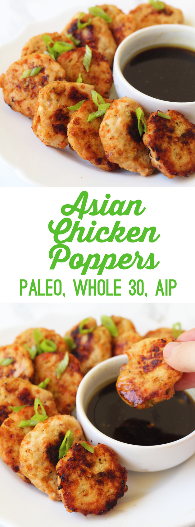 Asian Chicken Poppers (Paleo, Whole 30, AIP)