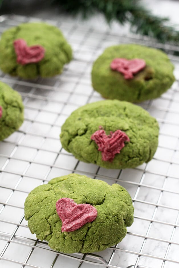 Grinch Cookies (Paleo, AIP, GF)