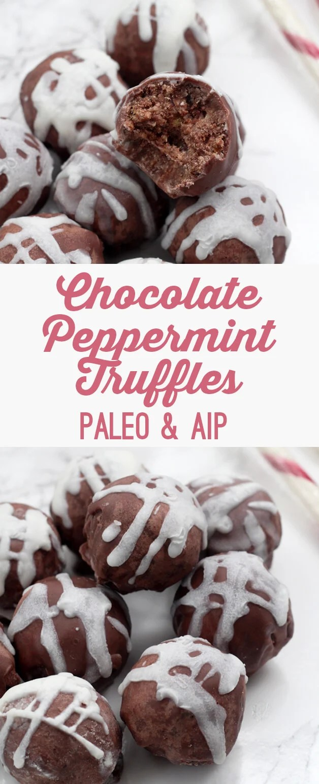 Chocolate Peppermint Truffles (Paleo & AIP)