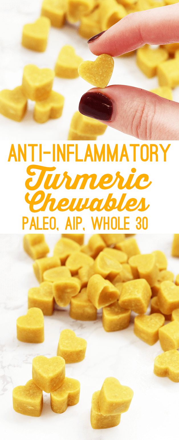 Anti-inflammatory Turmeric Chewables (AIP, Paleo, Whole30)