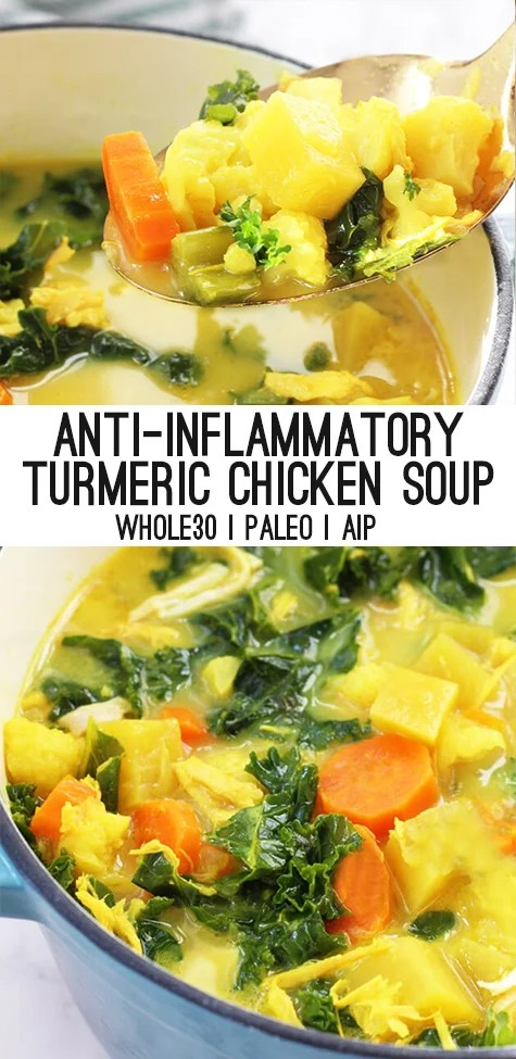 Turmeric Chicken Soup