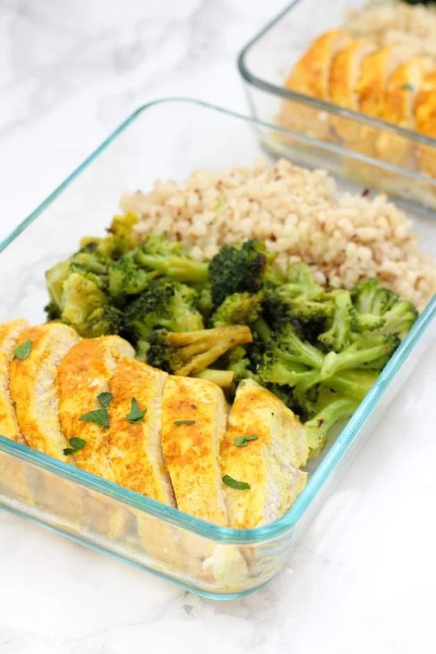turmeric chicken meal prep