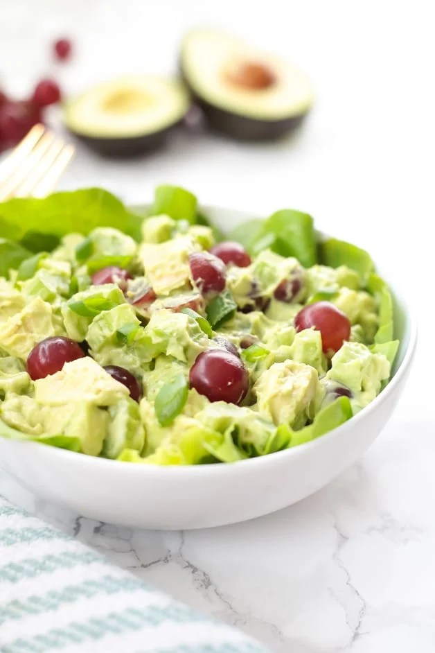 Paleo Avocado Chicken Salad (Whole30, AIP)