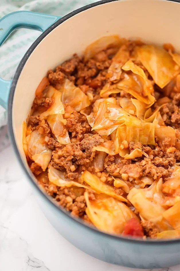 Unstuffed Cabbage Roll Whole30 Keto Unbound Wellness
