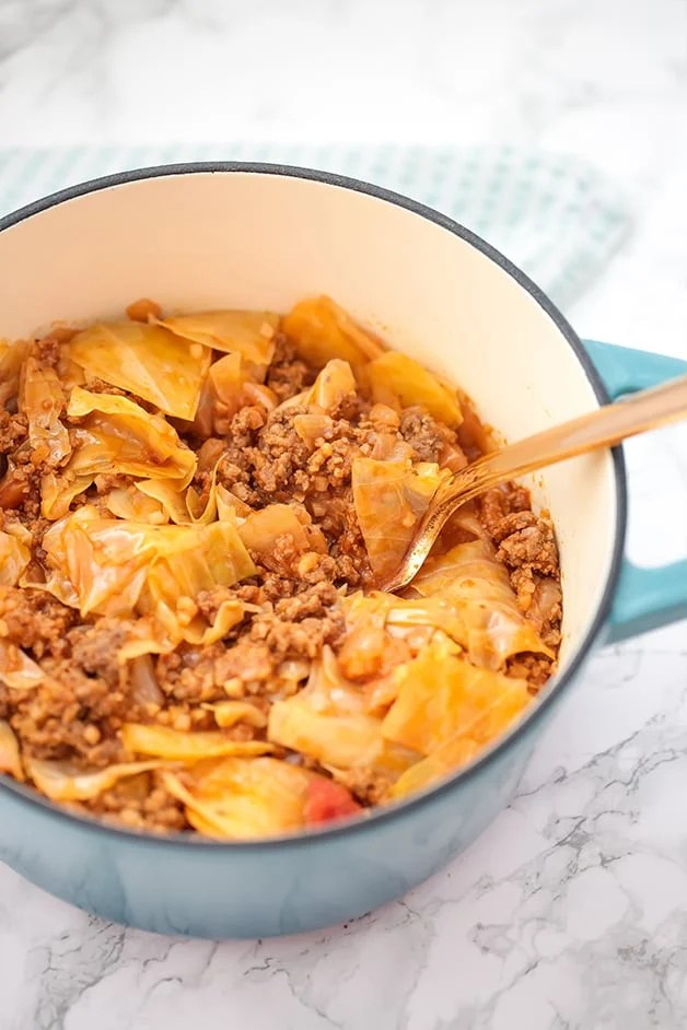 One Pot Cabbage Roll (paleo, AIP, whole30)