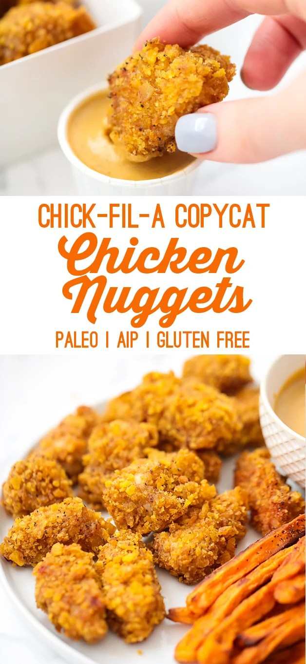 Paleo Crispy Chicken Nuggets (AIP, Chick-fil-A Copycat)