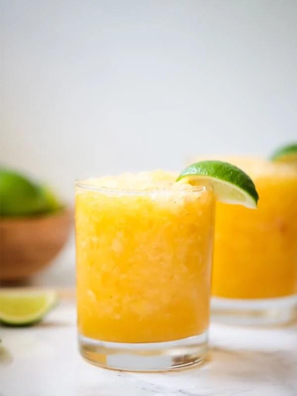 Frozen Mango Margarita Mocktail (Paleo, AIP)