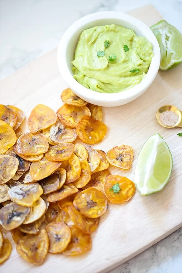 Baked Plantain Chips (Paleo, AIP)