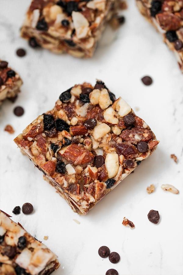 paleo granola bars