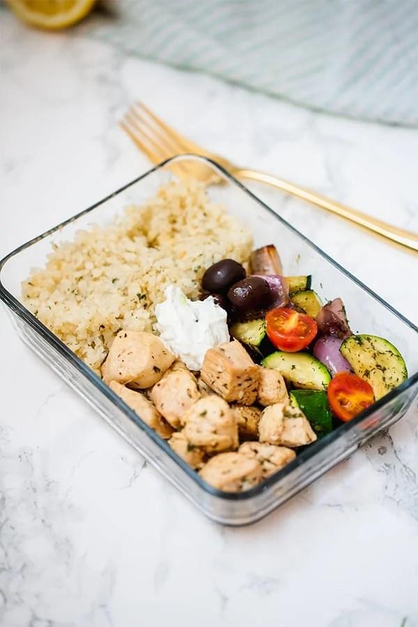greek meal prep