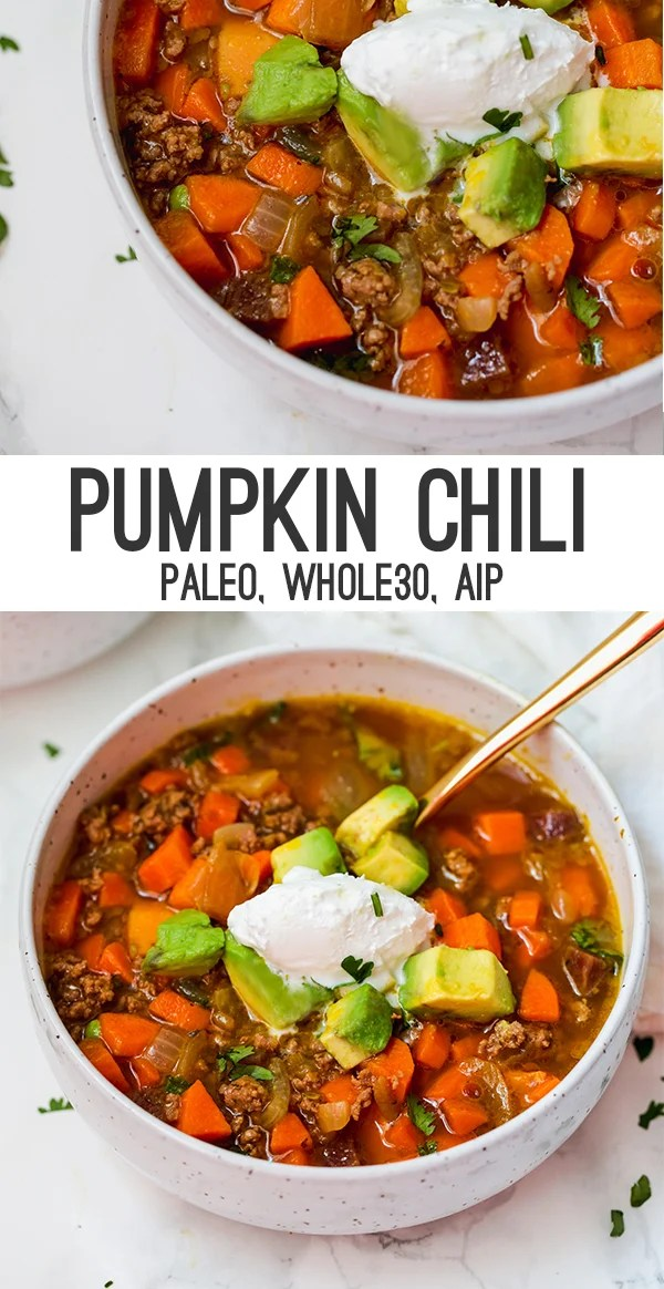 AIP pumpkin chili
