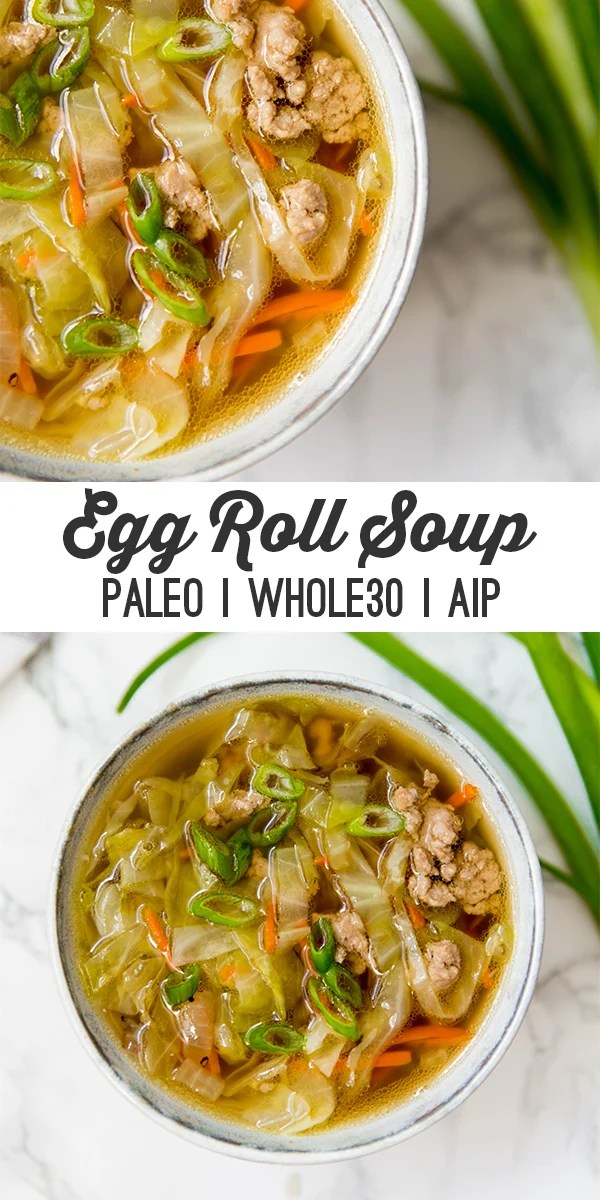 egg roll soup