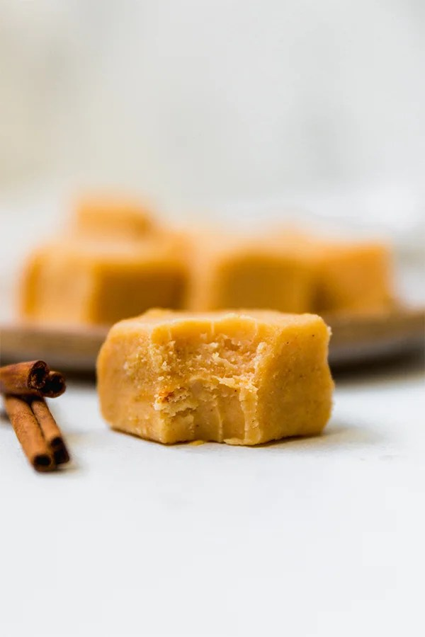 Paleo Pumpkin Fudge