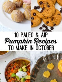 10 paleo pumpkin recipes