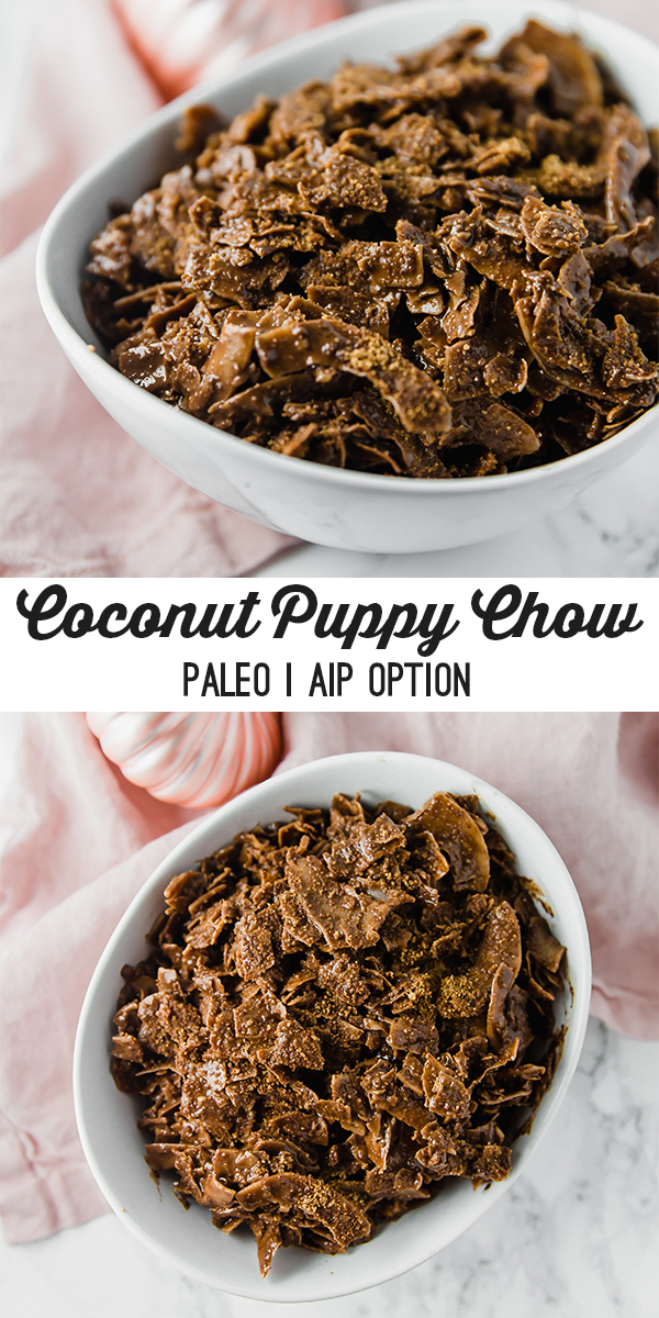Coconut Puppy Chow