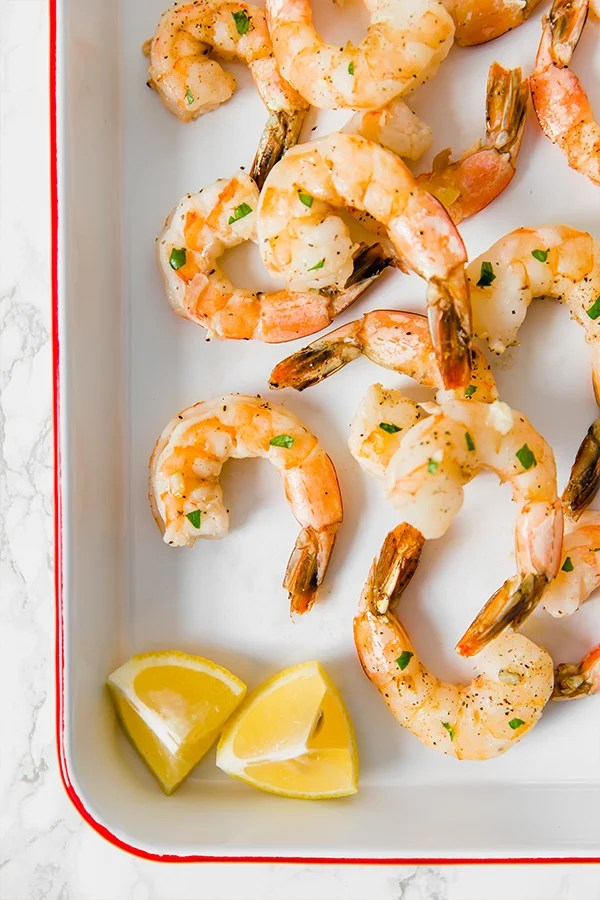 lemon baked shrimp