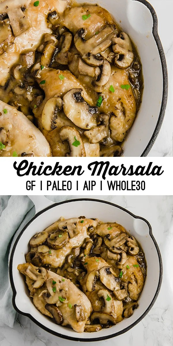 Whole30 Chicken Marsala