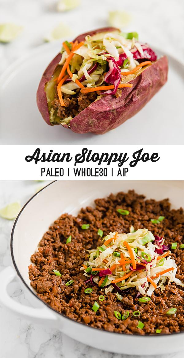 Asian Sloppy Joe