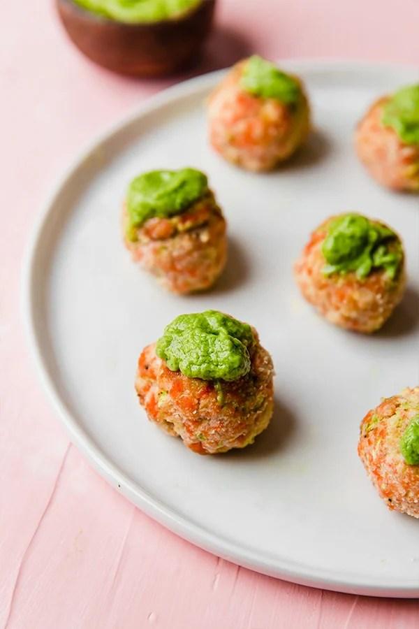 Salmon Meatballs