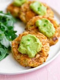carrot breakfast fritters