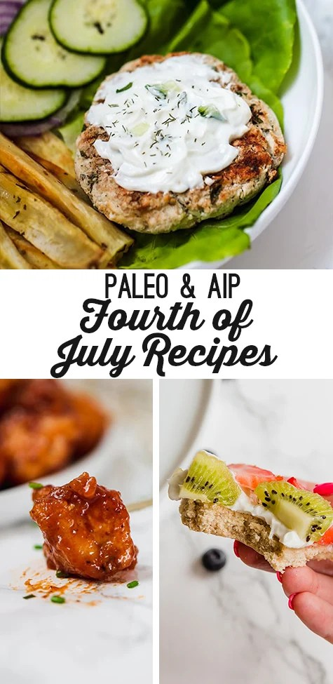 Paleo & AIP Fourth of July Recipes