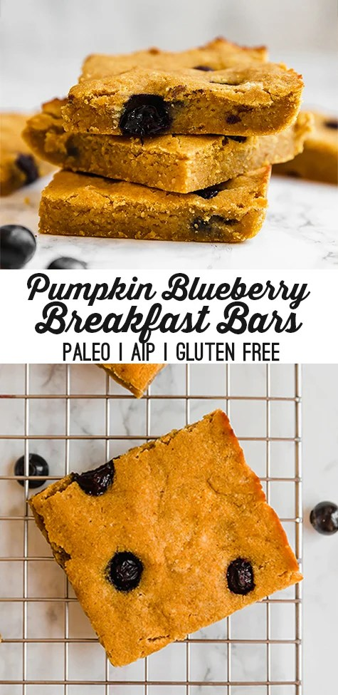 pumpkin breakfast bars
