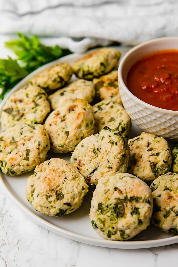Italian Chicken Poppers