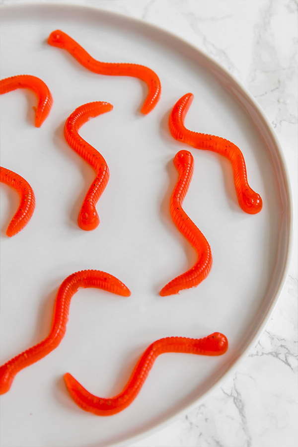 Gummy worms
