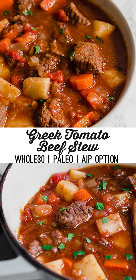 Greek Tomato Beef Stew