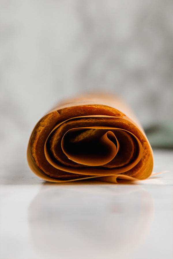pumpkin cake rolled