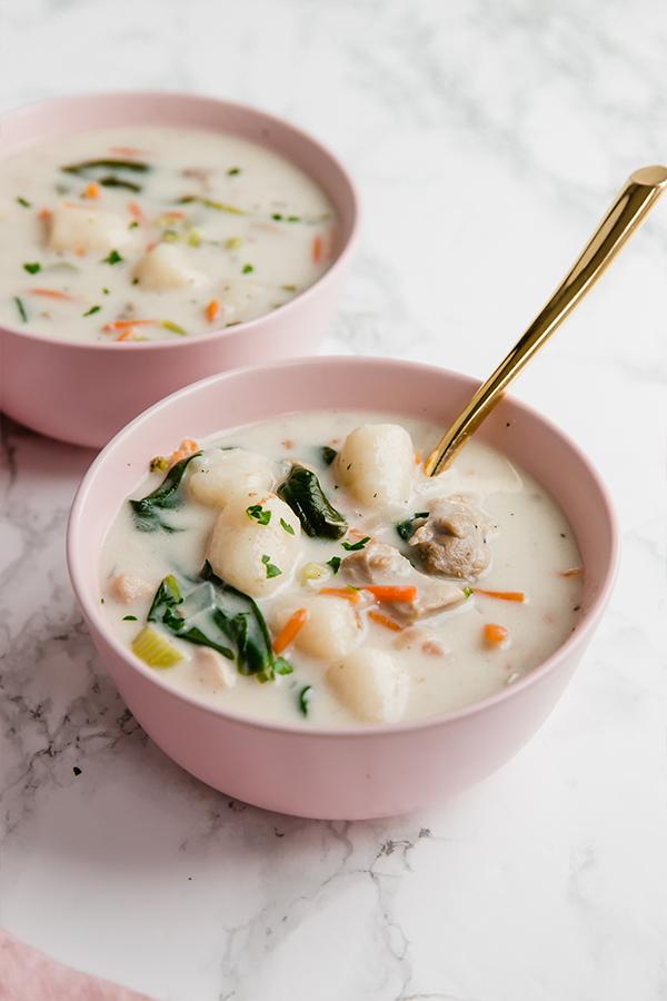 Gnocchi Chicken Soup