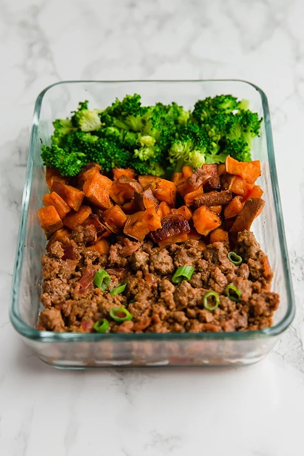Sloppy Joe Meal Prep Bowls