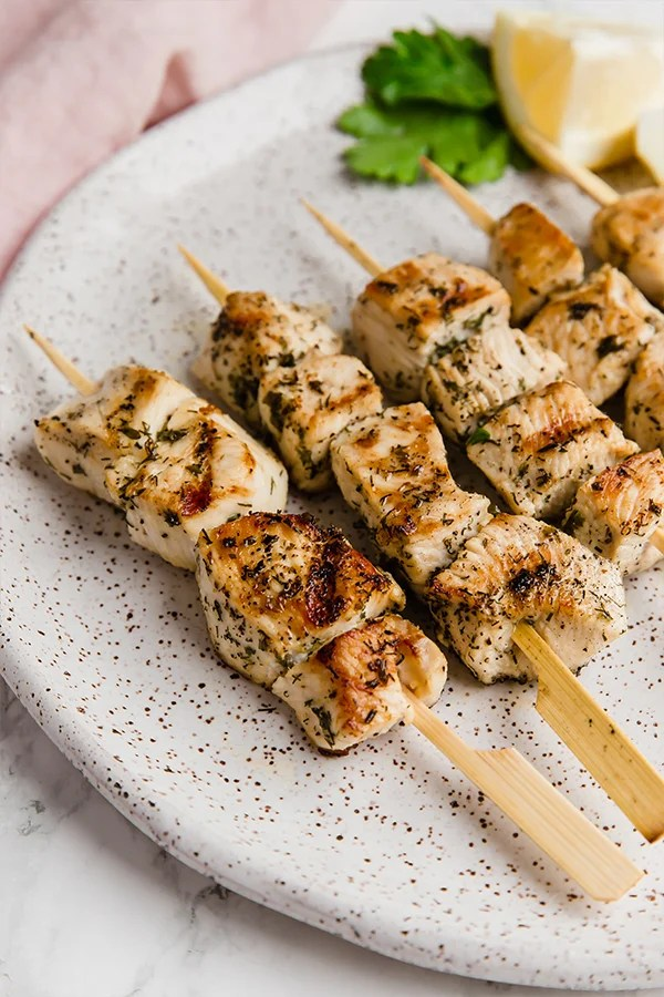 Greek Chicken Souvlaki Unbound Wellness