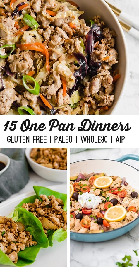 15 Easy One Pan Dinners