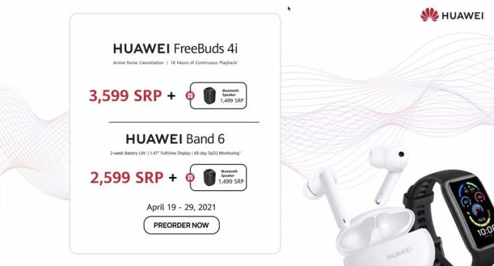 Huawei Freebuds Pre-order