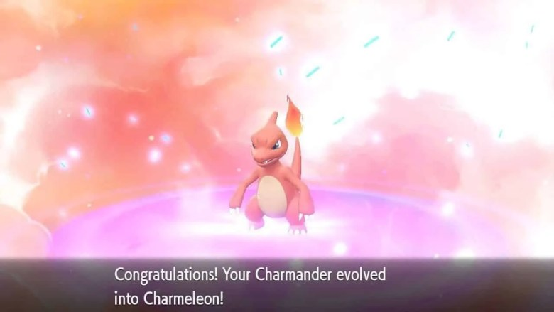 Charmeleon Let's Go Pokemon